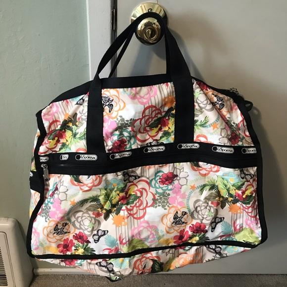 LeSportsac Weekend bag (floral)